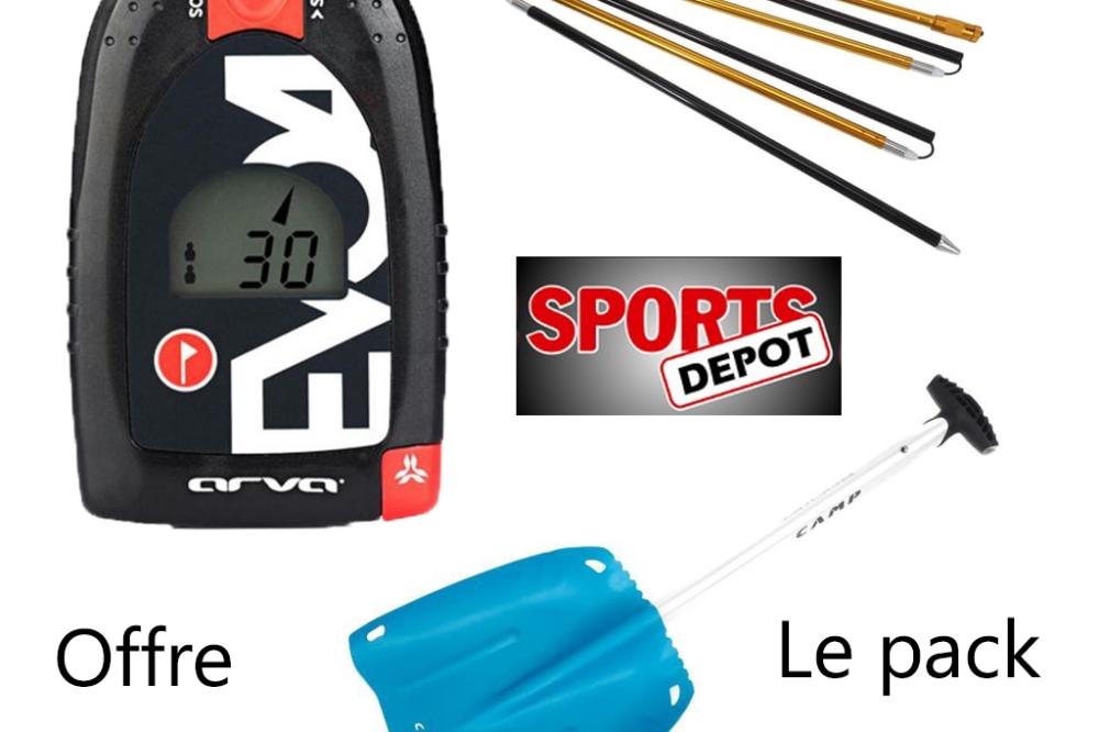 Pack DVA + Pelle + Sonde à 229€