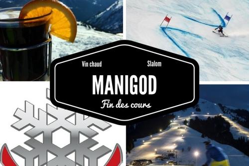 Concours de nuit à Manigod
